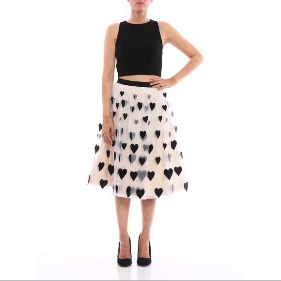 2a280ebd61b0 Alice + Olivia Catrina Heart Patch Tulle Skirt 4